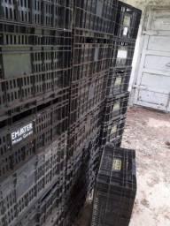 Caixas feira - plástico