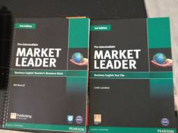 Inglês - Livro do Professor - Market Leader - 2 livros