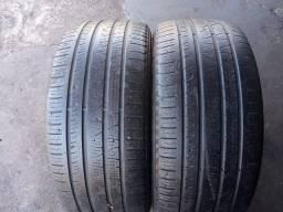 02 pneus seme novos 275/45/20 Pirelli Scorpions verde