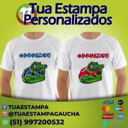Camisetas #Imunizados