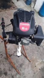 Vendo motor de poupa 6/0 hp 4T ZERADO