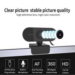 webcam alta definição 1080p completo microfone embutido usb plug computador