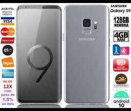 "Galaxy S9 4G Octa Core, 128GB, 6GB Ram, Tela 5.8"", Novíssimo, Caixa, NF, Gar, Troco!"