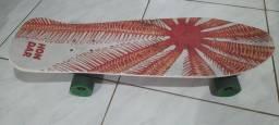 Vendo skate long com kit proteção