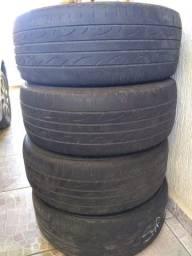 Vende jogo de pneu Dunlop sport 215 55 r 16