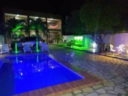 Casa à beira mar com piscina em Lucena por temporada litoral norte