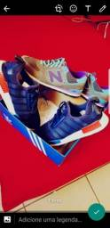 Dois tênis semi novo por 99$ os dois!?