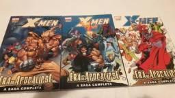 X-Men Era do Apocalipse vol. #1 #2 e #3