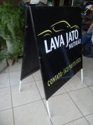 Placa para propaganda