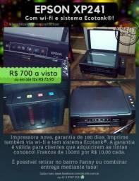 Impressora Epson XP241 (Wi-fi + Ecotank®)