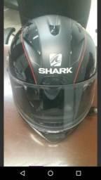 Capacete shark race r pro número 56