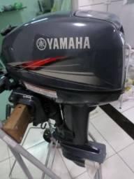 Motor De Popa Yamaha 15hp Ano 2014, Novo - 2014