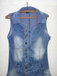 Macaquinho jeans TAM 40