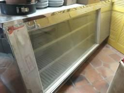 Balcão caixa e refrigerado