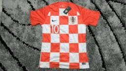 Camisa Croácia Copa 2018 Modríc 10
