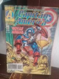 Hq - Capitão América nº 212 - Novas Armas