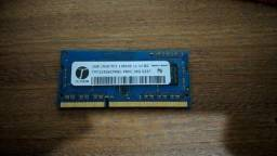 Memória Ram 2GB ddr3 1600Mhz Notebook
