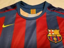 Uniforme original do Barcelona para colecionador