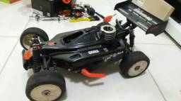 Automodelo buggy 1/8 nitro