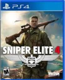 Vendo jogo Sniper Elite 4