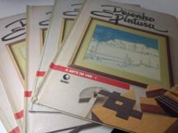 Curso De Desenho E Pintura - 5 Volumes