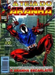 Revista Marvel formatinho A teia do Aranha