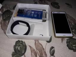 Xperia Z3 compacto com nota fiscal e smartband