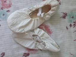 Roupa completa de bailarina branca