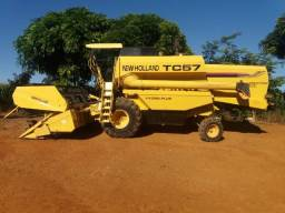 New Holland Tc 57 hidro peneira fixa - 2001 Ent.+ 55x1.623,06