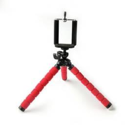 Tripé para fotos e videos - mini tripé flexivel - ** Shopdj variedades