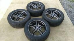 Rodas aro 17 c/ pneus - Barbada