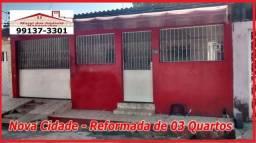"""""""Nova Cidade"""" - Imóveis de 03 Quartos Reformado px ao Via Duto do Conjunto"""