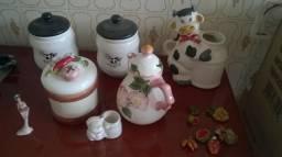 Objeto de decoração cerâmica