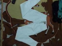 Calca branca marca flook semi Nova