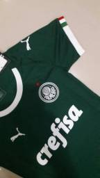 Camisa PUMA feminina Palmeiras 2019 2cf855ac8ee14