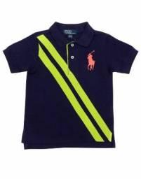 6a224dcf92 Camisa Polo Ralph Lauren Infantil Kids Original 2 - 16 Anos