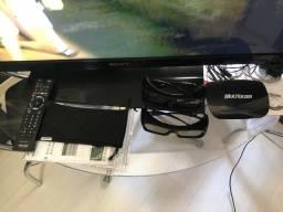 Tv Led Bravia 3d Sony 46 Polegadas full hd c  2 óculos 9d1271cc60