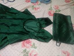 Vendo vestido tamanho pp usado uma vez