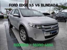 Ford Edge 3.5 V6 Aut. 2014 Blindada com apenas 39.000km. Tel: * - 2014