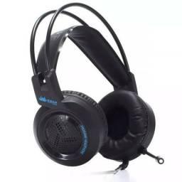 Fone Headset Gamer Cabo Reforçado 7.1 + Adaptador P2