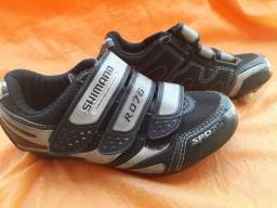 Sapatilha Ciclismo Infantil, Shimano RF76, 36 EUR