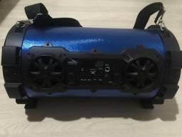 Caixa de Som Bluetooth Canhão Portátil
