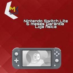 Nintendo Switch Lite - Aceitamos Cartões em até 18x Loja Física MK Games