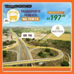Lotes em Itaitinga a 10 min de Fortaleza R$ 197,00