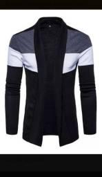 Casacos Trench Coat Jaqueta Estilo Quimono Slim, Ref: 838