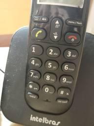 Telefone sem fio, Intelbras (funcionando)