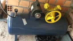 Compressor Schulz 5,2 pés 125 litros