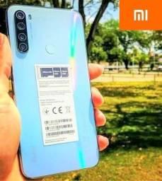 Só essa semana!! Novidade Xiaomi Redmi Note 8 Branco 64GB 2021 Garantia 1 Ano + Brindes