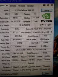 Vendo placa dee video Geforce 9500 gt