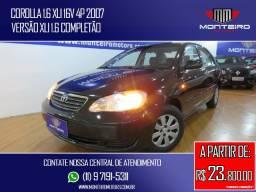 Toyota Corolla 1.6 XLI 16v 4p Completo Ótimo Estado